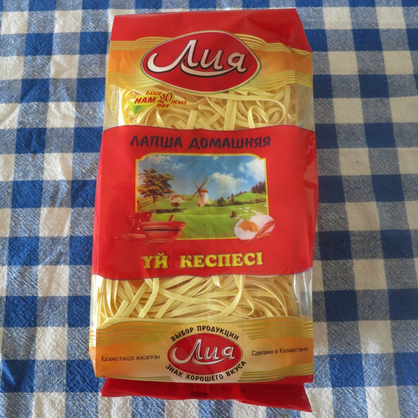 Kespe - noodles from Kazakhstan